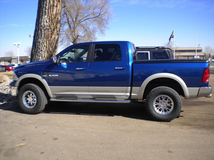 Blue Dodge Pick Up