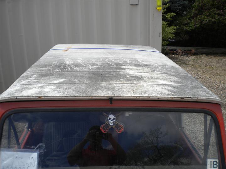 Top of car