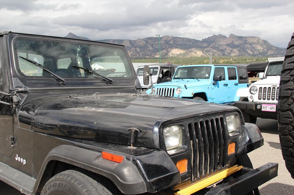 Black Jeeps