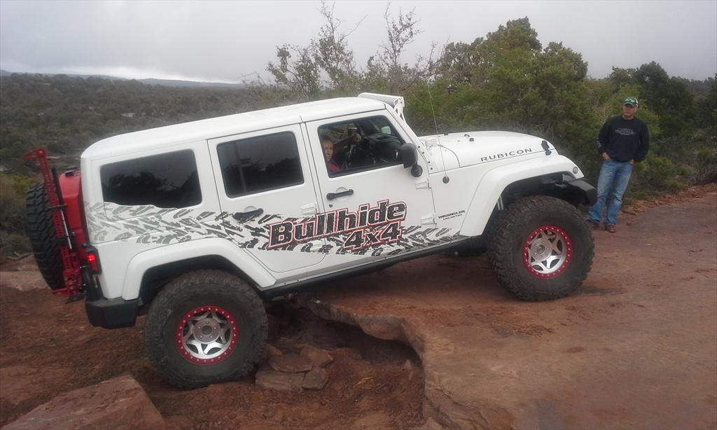 Bullhide 4x4 Jeep off-roading