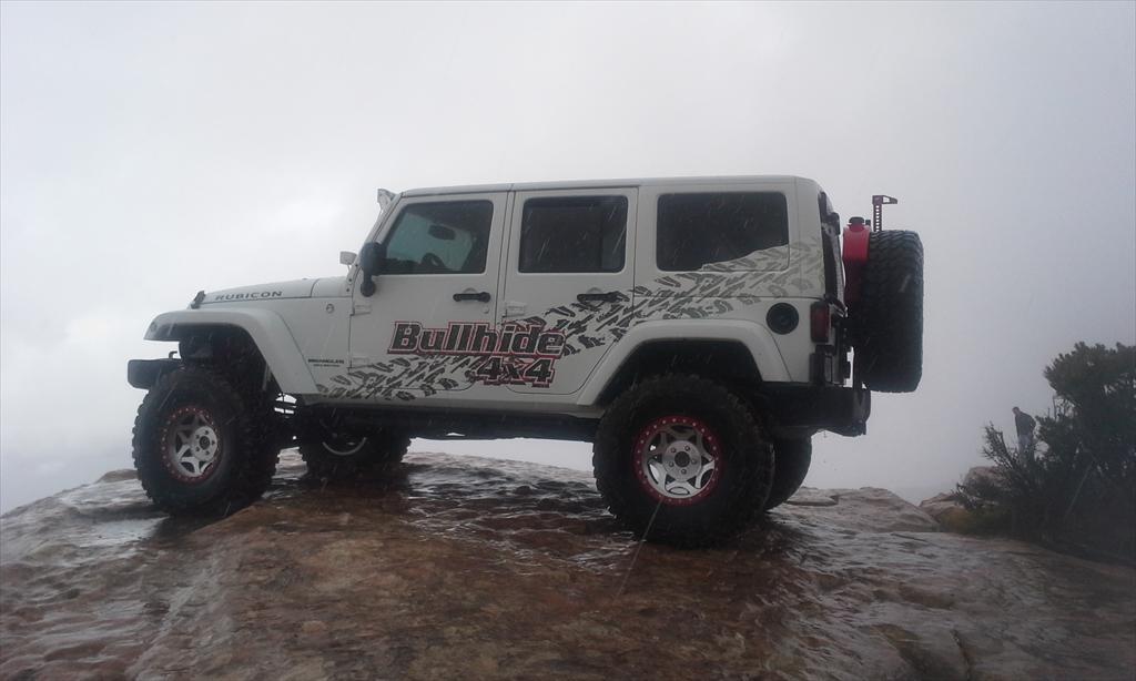 Bullhide 4x4 White Jeep