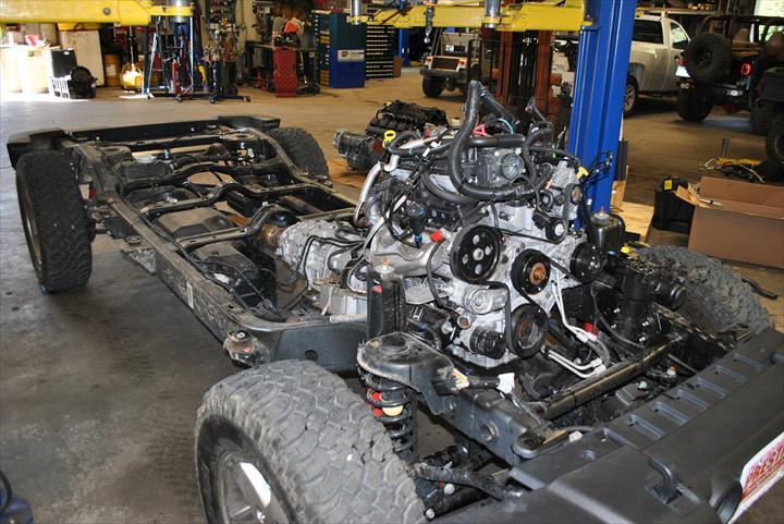Jeep car body
