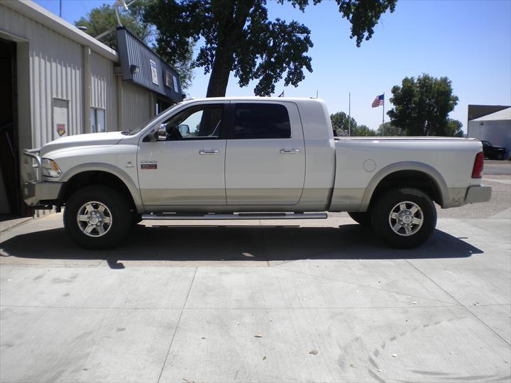 White Dodge Pick Up