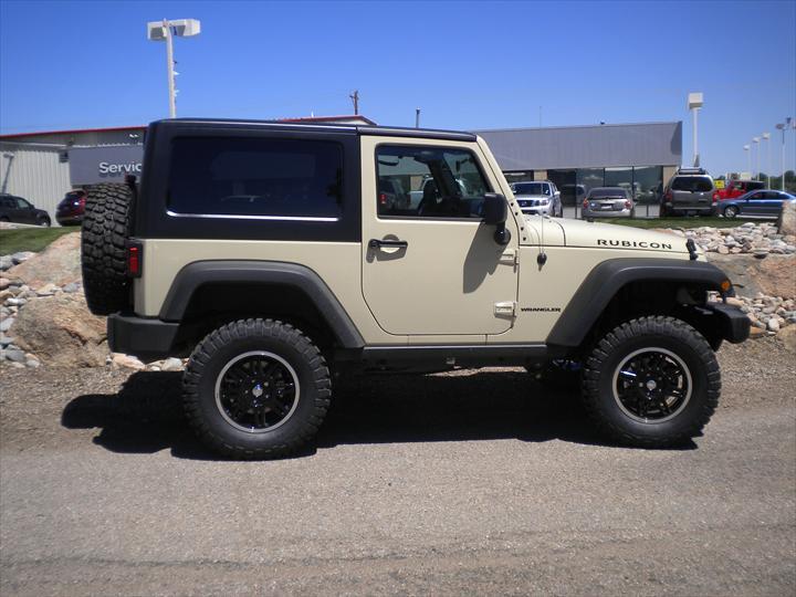 Tan Jeep