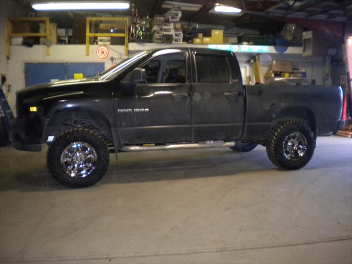 Black Dodge Pick Up