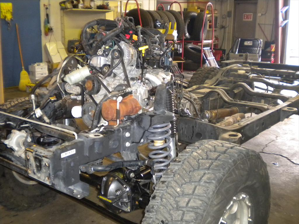 Jeep enginer