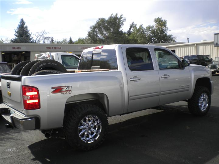 White Ford Pick Up