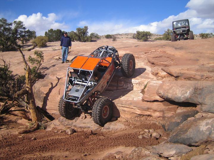 Custom Buggy on boulders