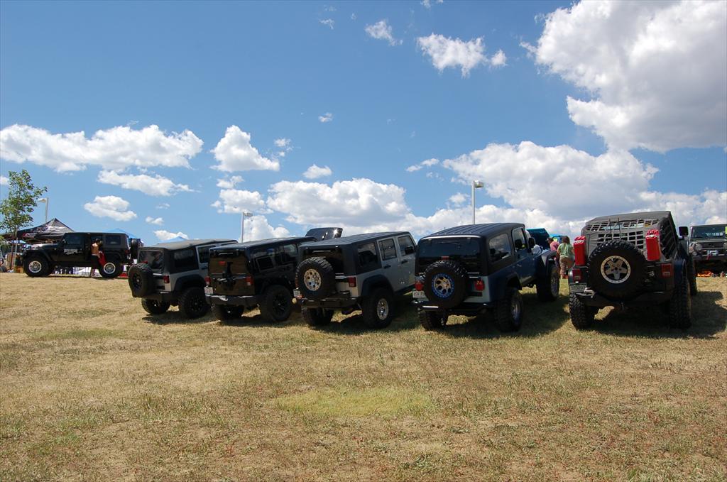 Multiple Jeeps