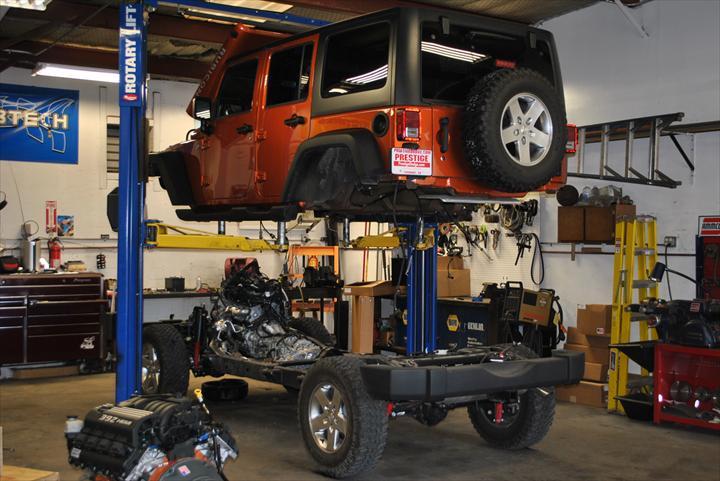 Jeep body