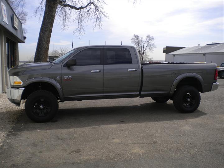 Grey Dodge Pick Up