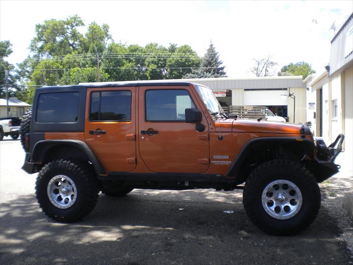 Orange Jeep
