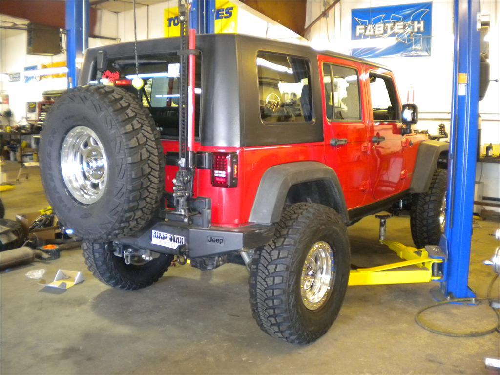 Back on Jeep Wrangler