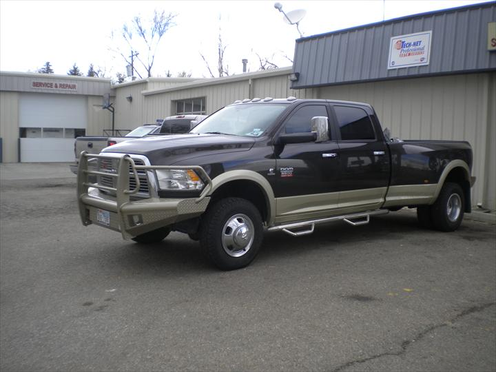 Brown Dodge Pick Up