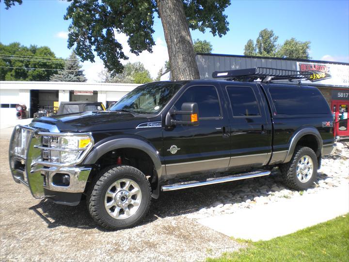 Black Ford Pick Up