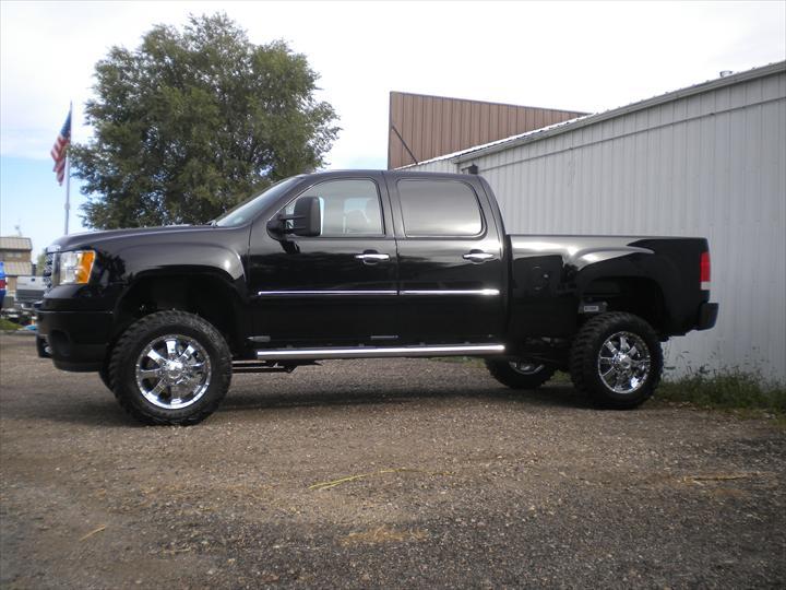 GMC Black Pick up