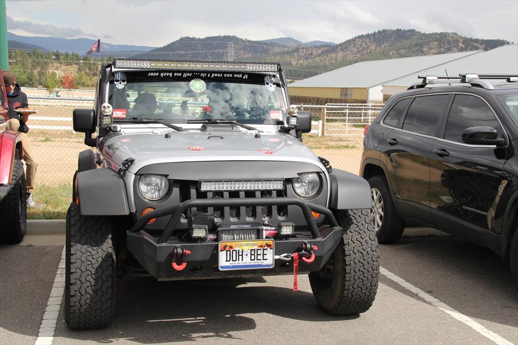 Gray Jeep
