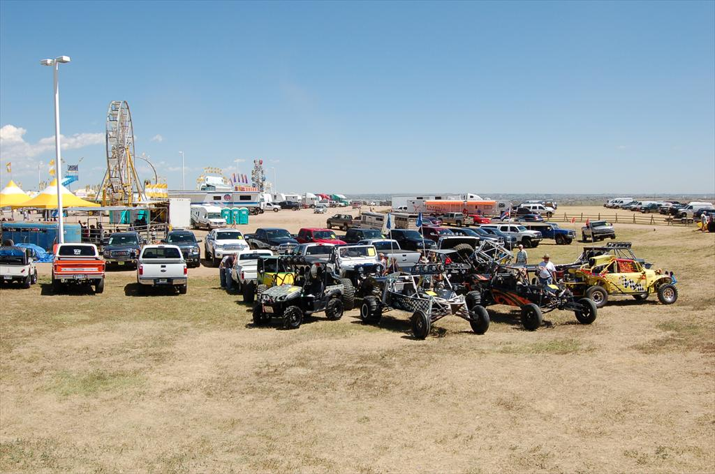 Multiple Jeeps and Trucks