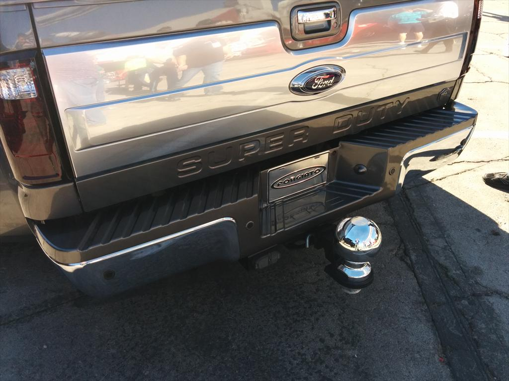 Ford Super Duty Truck and hitch