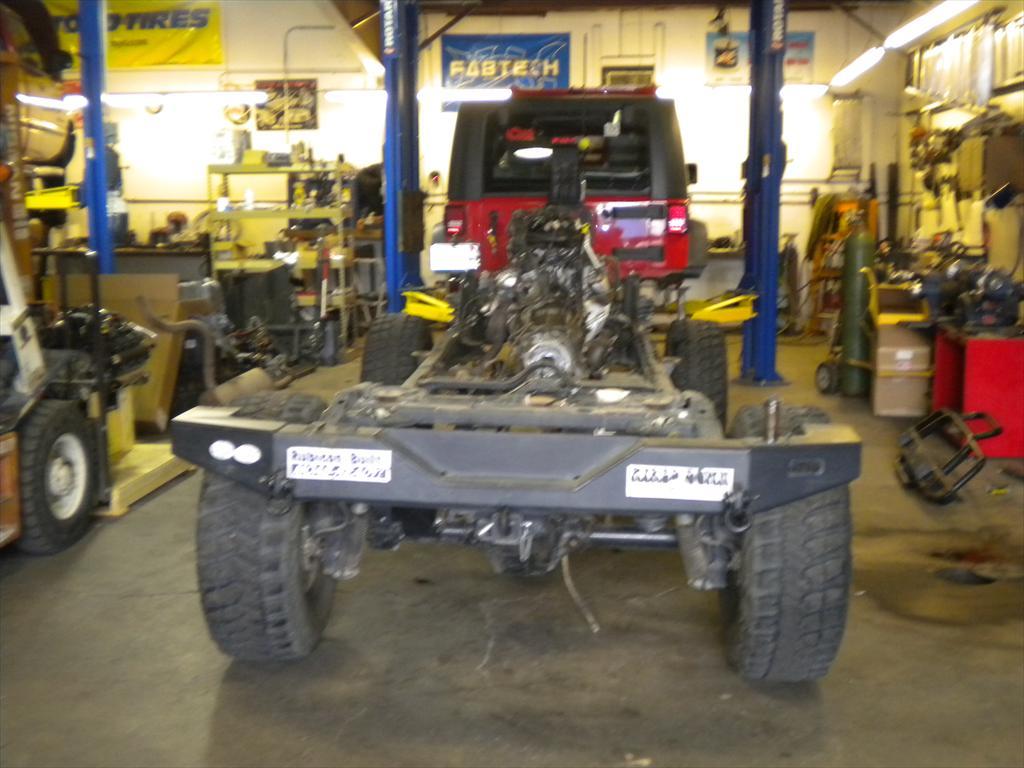 Jeep underneath