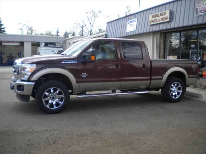 Brown Ford Pick Up