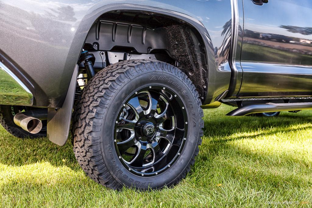 Wheel of pick up truck