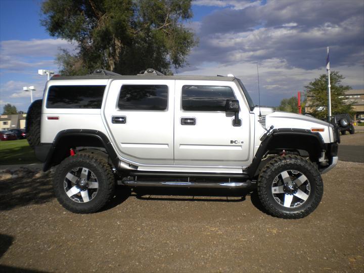 GMC White Car