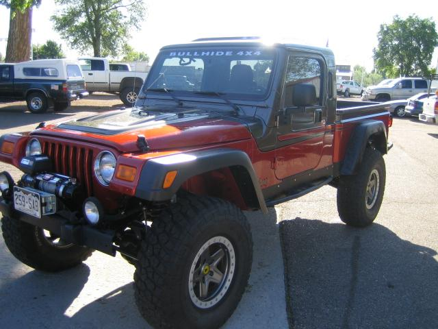 Front of Jeep