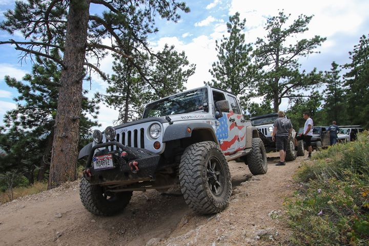 Jeeps at the Jeep Jaunt 2019
