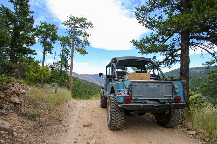 Jeep at the Jeep Jaunt 2019