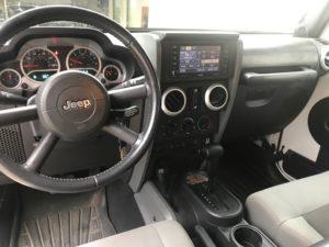 2010 Jeep Wrangler Unlimited Rubicon dashboard