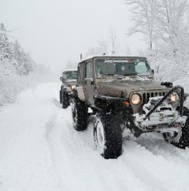 winter offroading